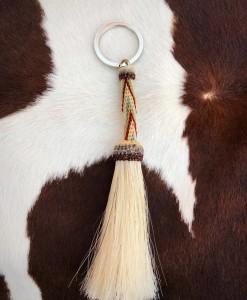 """ Tubo "" Horsehair Keychain ( 01 )"