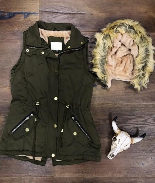 women fashion vest