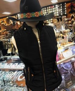 womens puffer vest