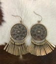 ANTIQUE GOLD ISLA EARRINGS