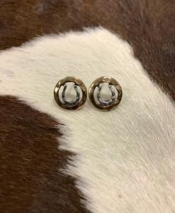 """ Lucky You "" Western Horse Earrings"