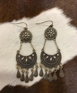 """ Callie "" Earrings ( Antique Gold )"