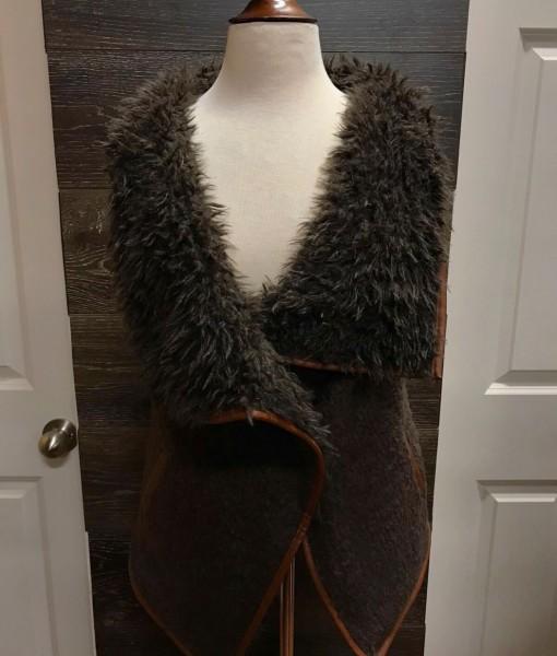 love fur vest