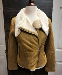 moments faux fur jacket