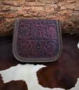 delila 100 leather purse