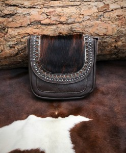 MONTANA WEST 100 LEATHER CROSSBODY