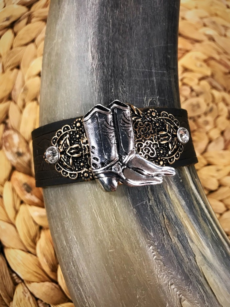 BOOT LEATHER BRACELET