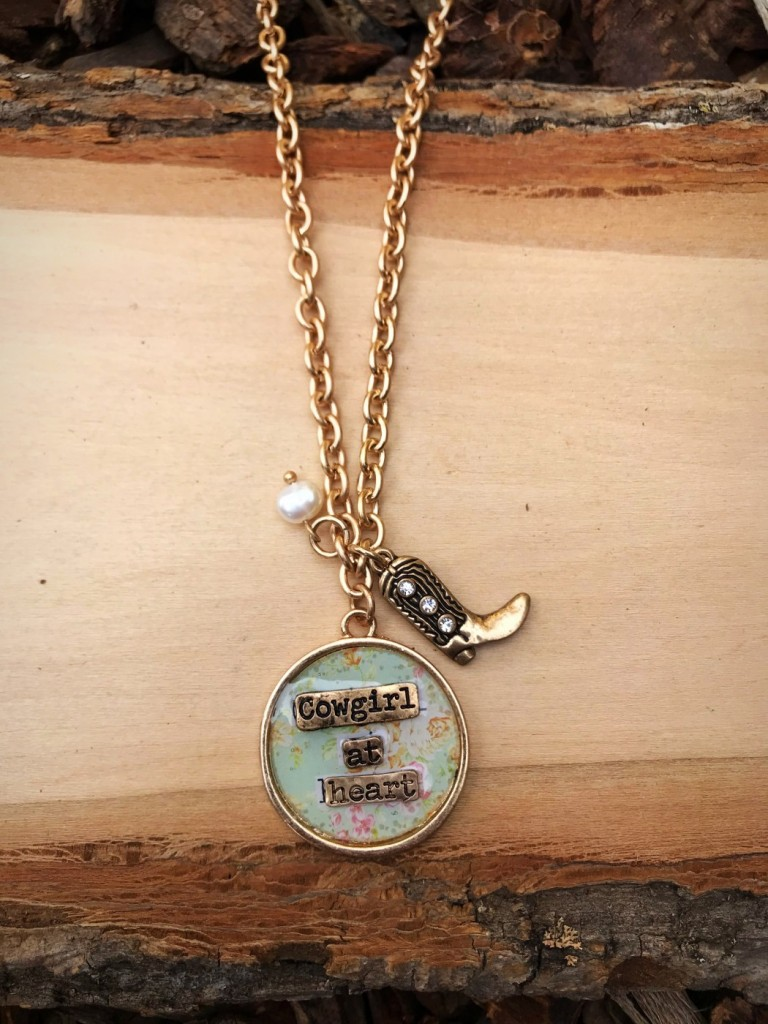 COWGIRL AT HEART NECKLACE