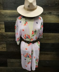 floral spring kimono