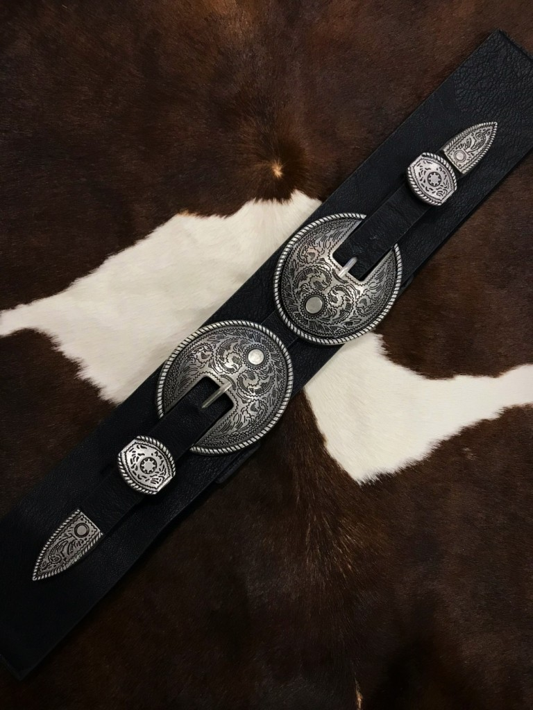 DOUBLE BELT BUCKLE BELT
