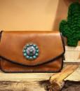 trinity ranch leather purse