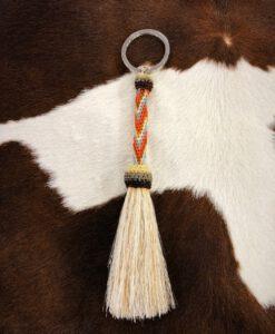 tubo horsehair keychain