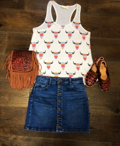 WESTERN COWGIRL OUTFIT