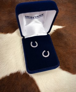 montana silversmiths horseshoe earrings