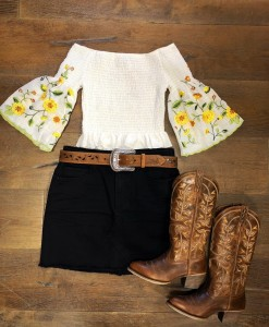 smocked top embroidery