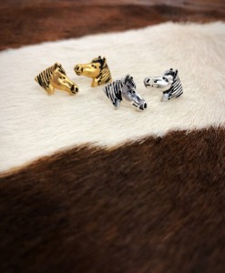 western stud earrings