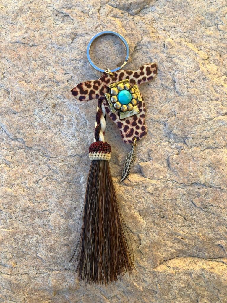 Braided Horse Hair &  Leopard