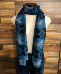 western horse scarf