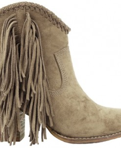 Women;'s Fringe booties