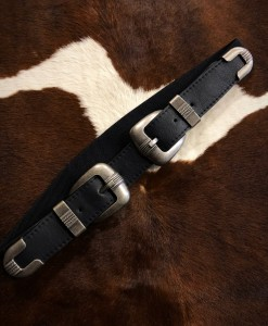 double belt buckle