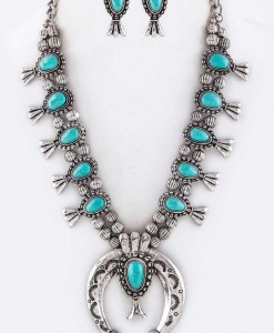 SQUASH BLOSSOM NECKLACE