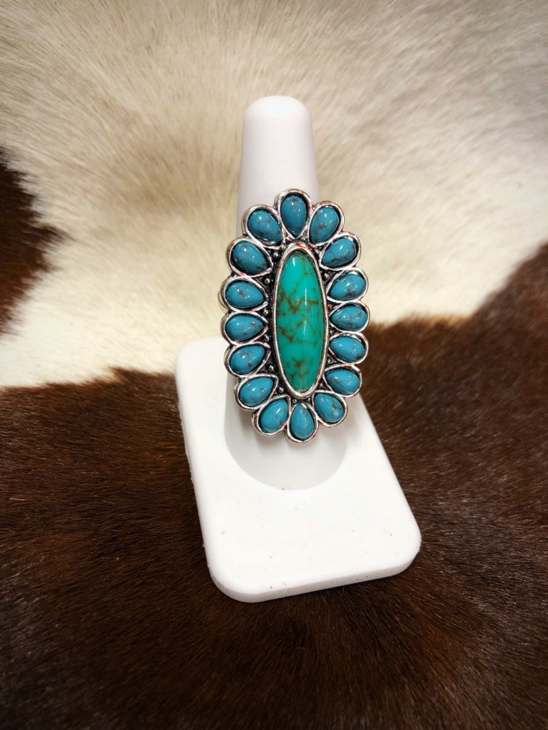 western style ring