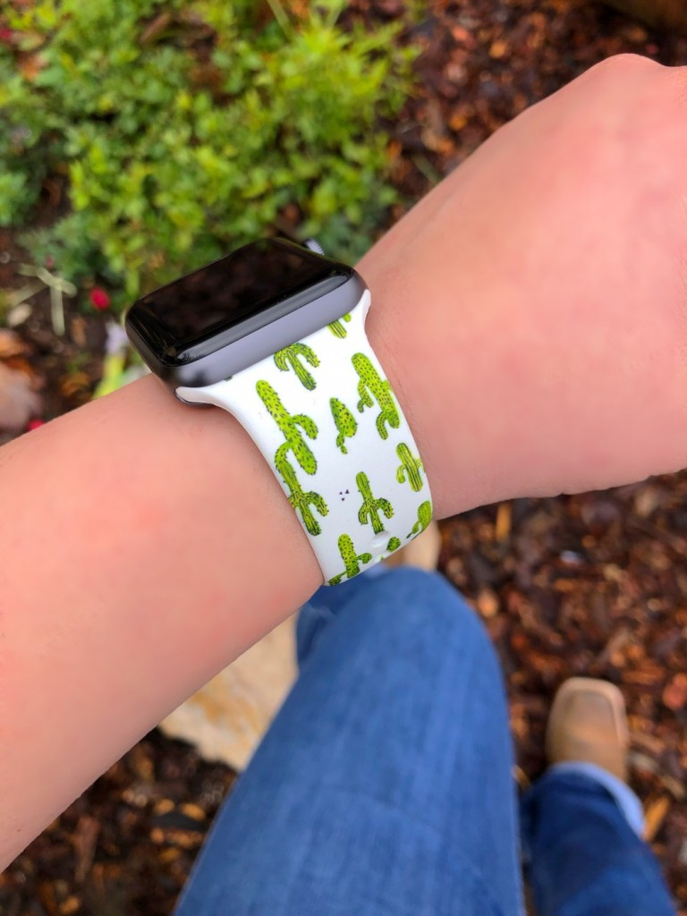 CACTUS PRINT APPLE WATCH BAND