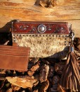 womens blazin roux cowhide wallet