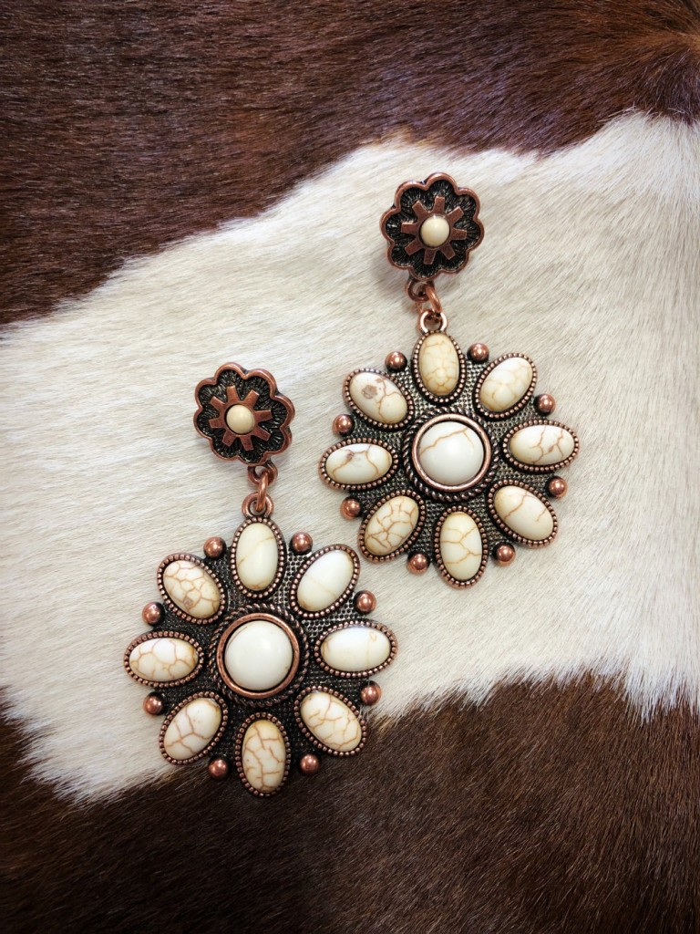 """ Elizabella "" Western Earrings"