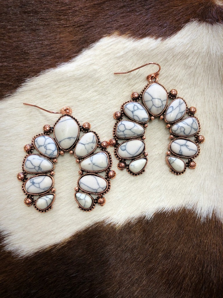 western squash earrings