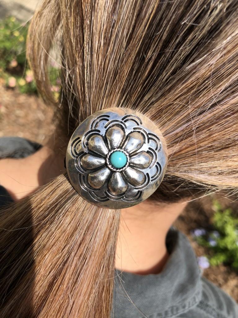 western hair accessory