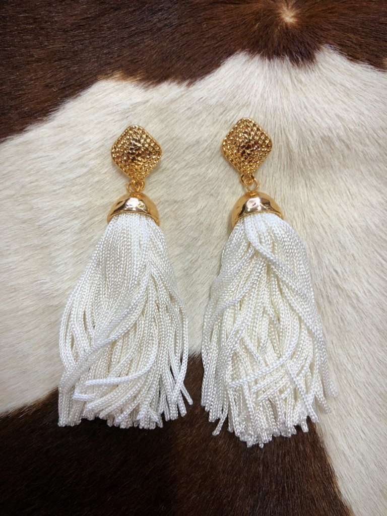 FASHION TASSEL EARRINGS'
