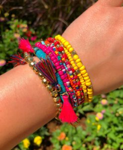 """ Tassel Lover "" Multi Bracelet Set ( Multi Color )"