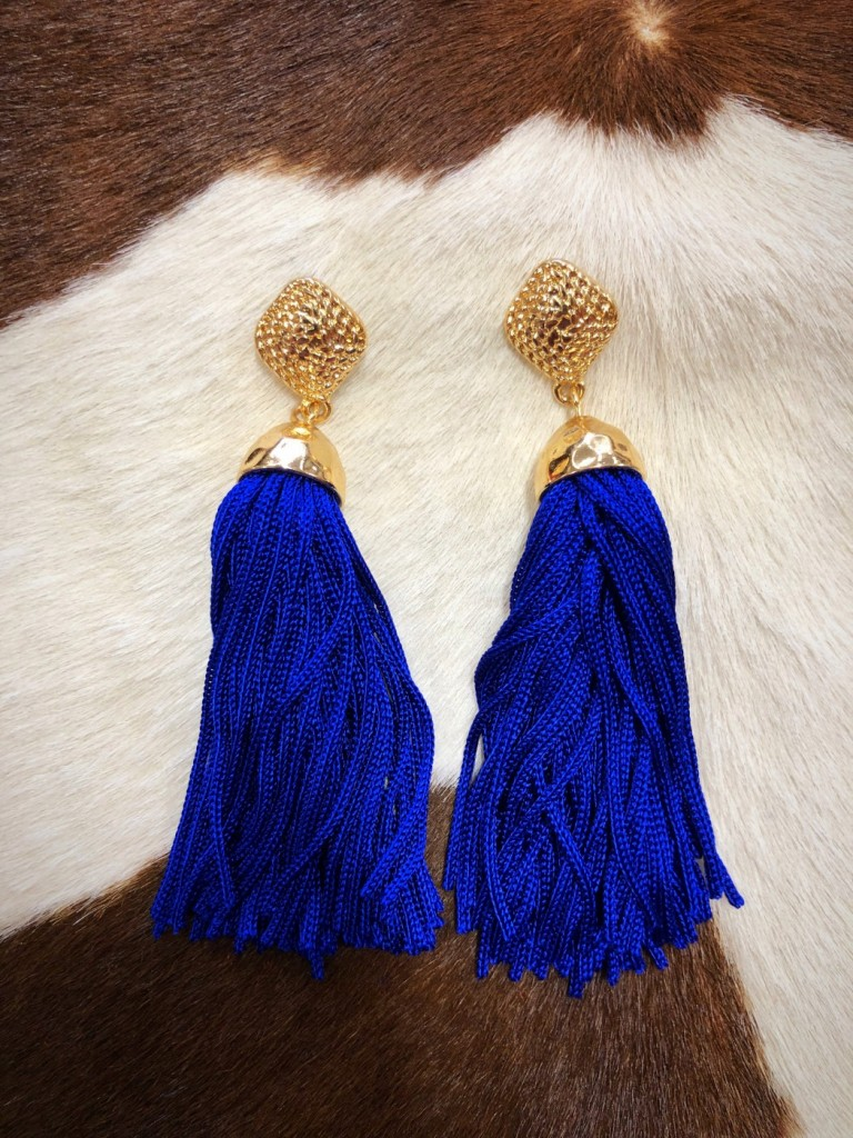 WOMENS FASHION TASSEL EARRINGS