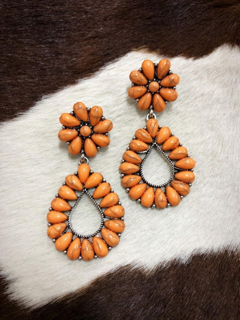 western style earrings