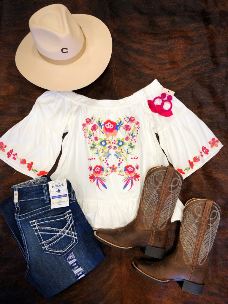 women's embroidery  top