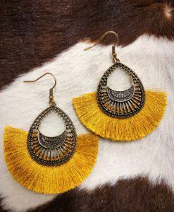 fashion tassel earrings