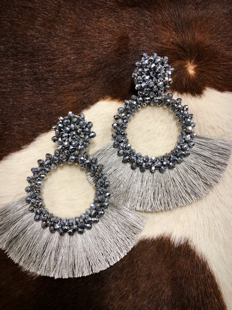 WOMENS FASHION JEWELRY TASSEL EARRINGS