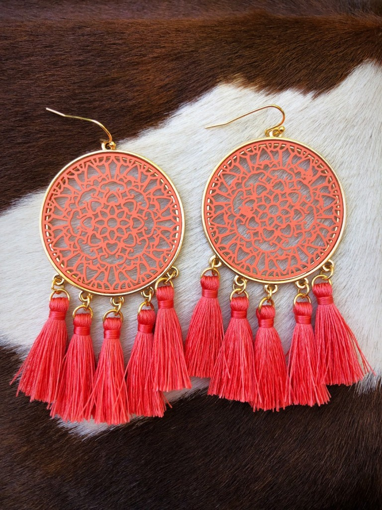 fashion jewelry tassel earrings
