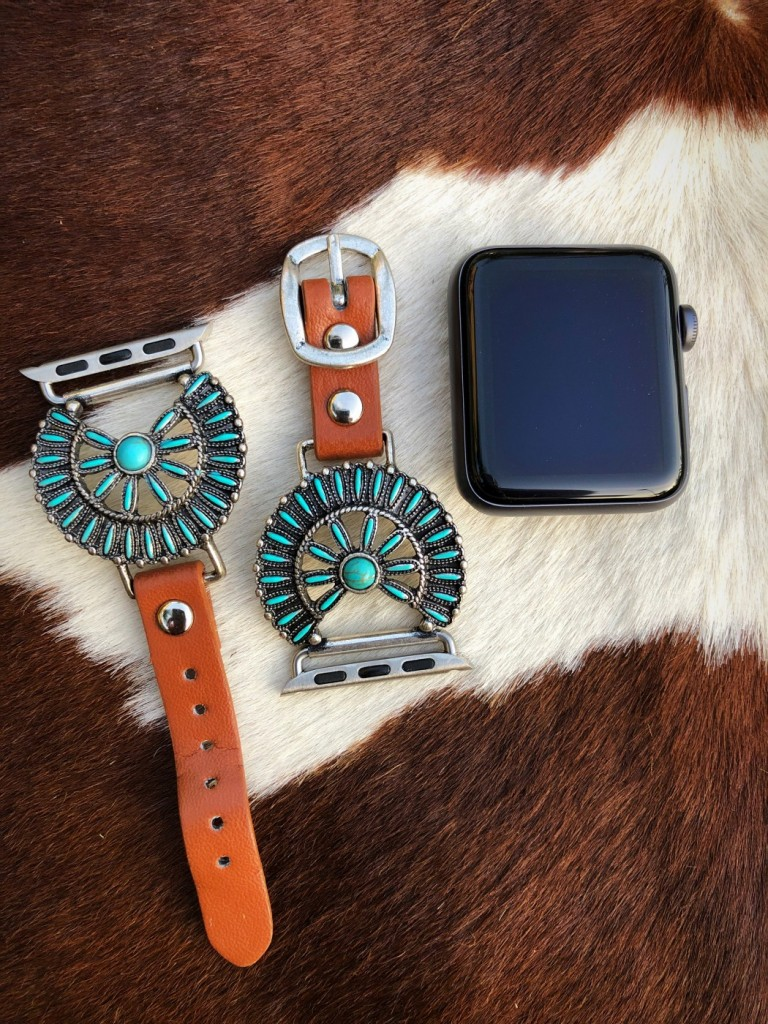 western apple watch band