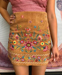 womens embroidery skirt