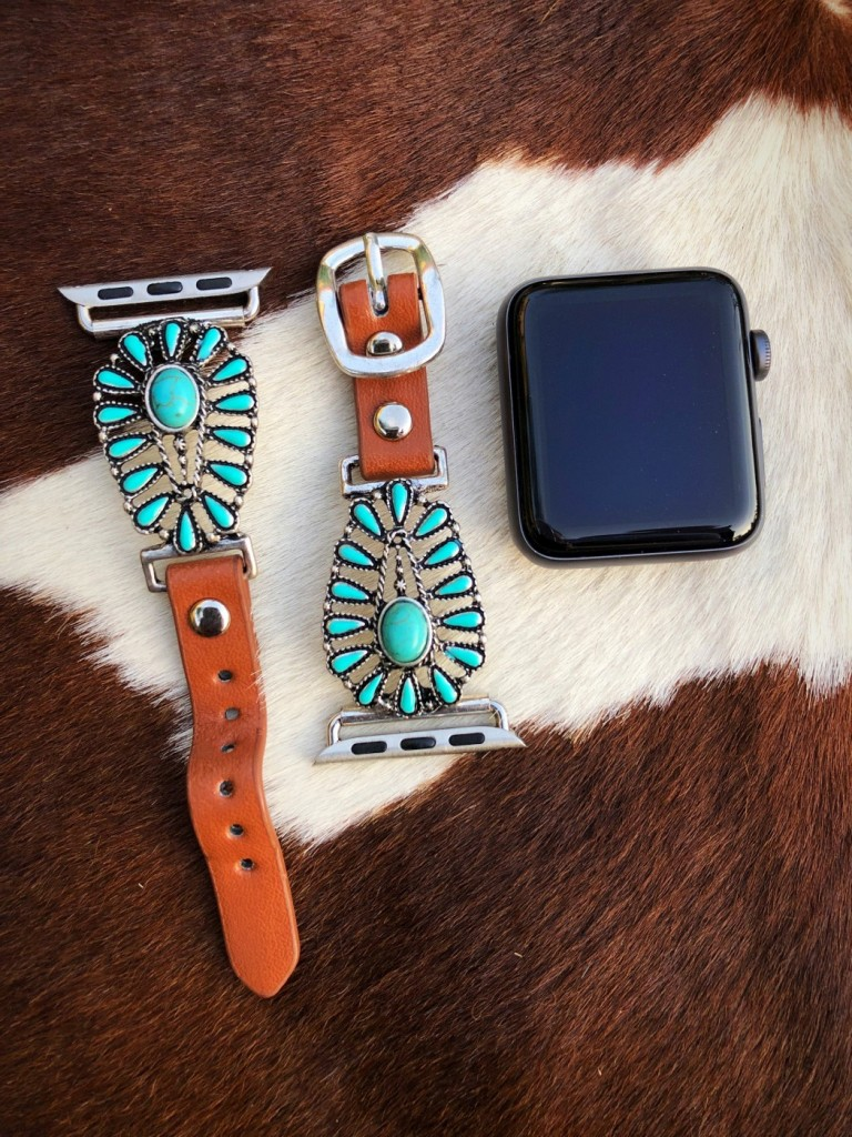 western apple watch band