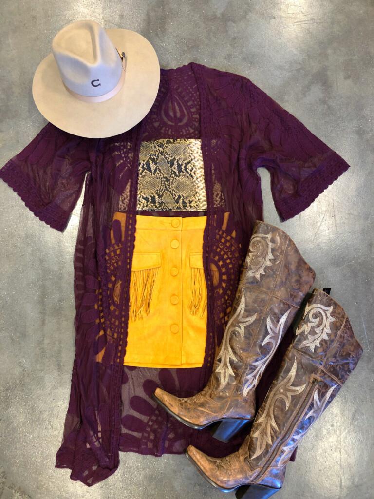 women's fashion lace kimono