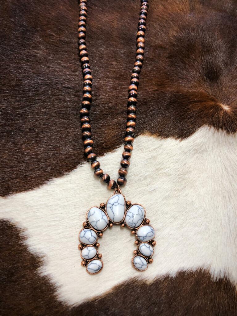 western squash necklace