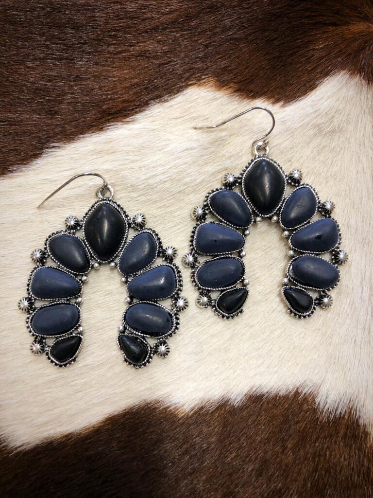 Squash earrings