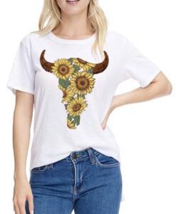 sunflower bull head top