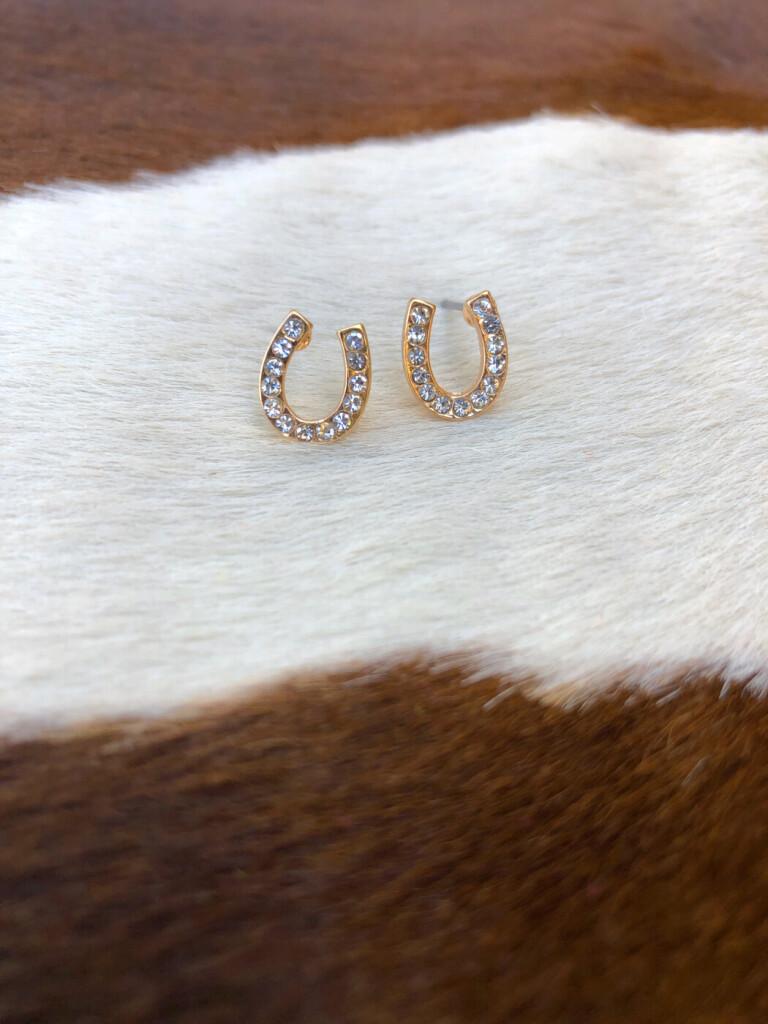 SMALL HORSESHOE EARRINGS