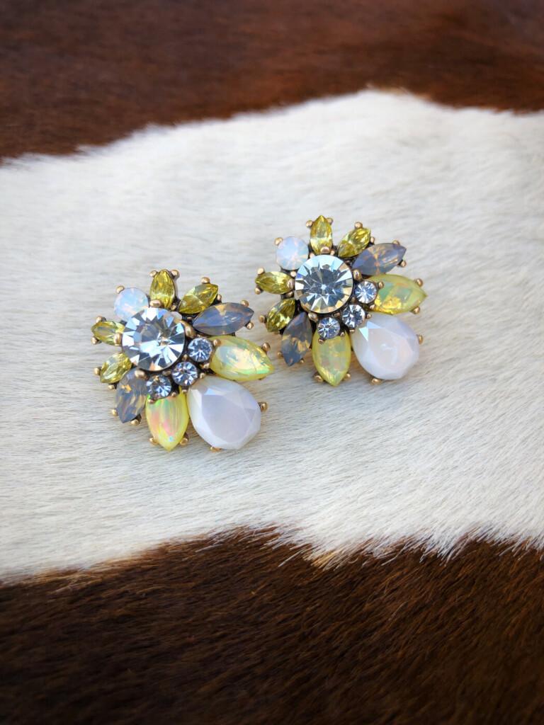 fashion crystal earrings