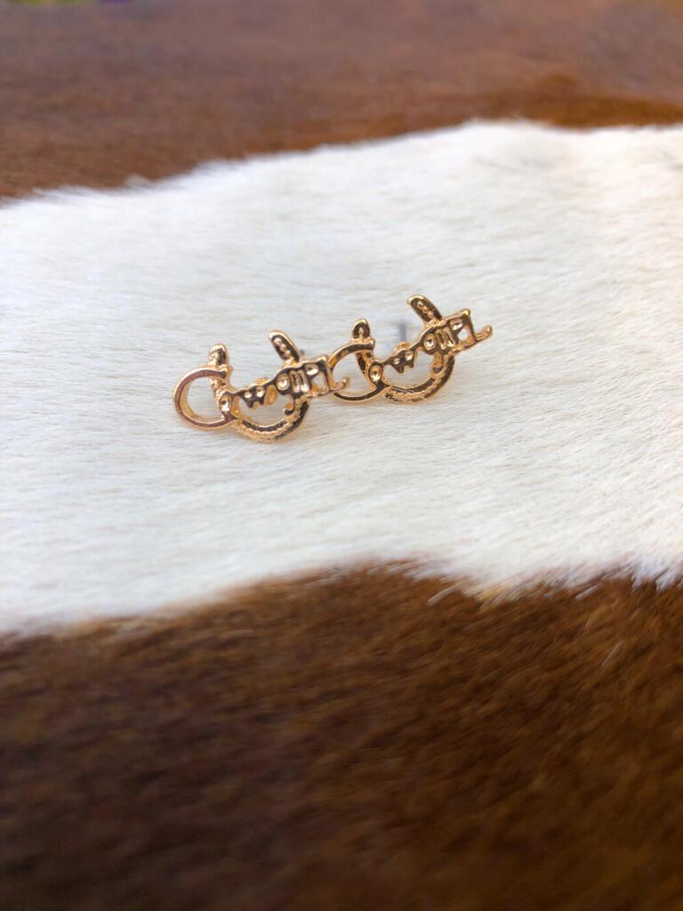 western cowgirl earrings