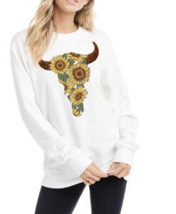 sunflower bull head sweater